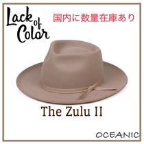 lack of color(ラックオブカラー) ハット 【Lack of Color】The Zulu II ☆中折れヴィンテージハット☆