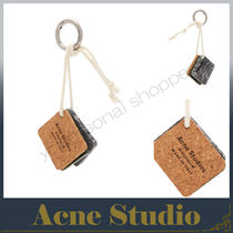 Acne アクネ ☆ Triple rectangle rope key ring キーリング