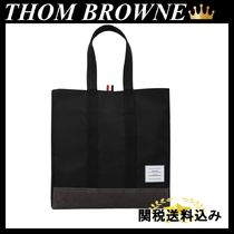 THOM BROWNE UNSTRUCTURED TOTE BAG