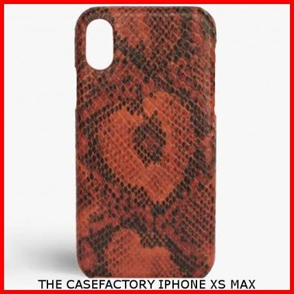 THE CASE FACTORY スマホケース・テックアクセサリー 関送込☆THE CASEFACTORY☆IPHONE XS MAX SNAKE LAVA