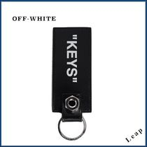【OFF-WHITE】人気!レアアイテム★BLACK QUOTE KEY HOLDER◎