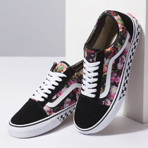 【関税込】VANS Customs Dark Floral Old Skool カスタム
