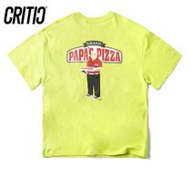 ◆CRITIC◆ PIZZA BOY CHICKEN KILLER Tシャツ/ネオングリーン