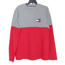 即納TOMMY HILFIGER   Men's  長袖クルーTシャツ09T3320