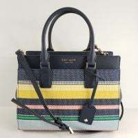Kate Spade(ケイトスペード) Boardwalk Stripe Satchel Bag