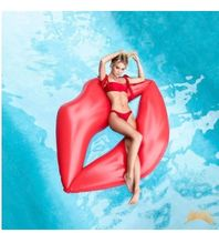 【送料 関税無料】Giant Inflatable Lips Pool Float