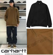 CARHARTT WIP TEAM SCRIPT HALF ZIP SWEAT 裏起毛 2カラー
