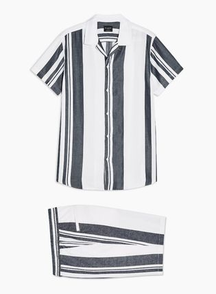TOPMAN セットアップ 【SELECTED HOMME】国内発送★ ストライプ セットアップ(4)