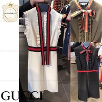 SALE★GUCCI★リボンが可愛いワンピース★国内発送★関税込