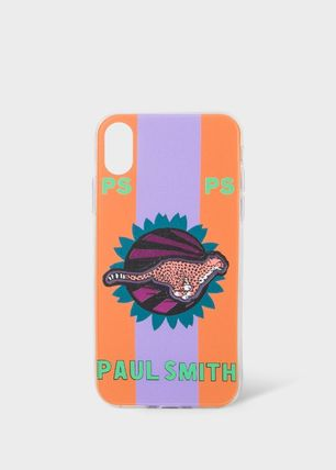 Paul Smith スマホケース・テックアクセサリー 【Paul Smith】 Live Faster   iPhone X用ケース*追跡送料込み