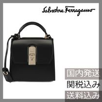 【国内発送】 Salvatore Ferragamo 2WAY BOXYZ BAG