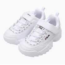 【FILA】☆KIDS☆DISRUPTOR2☆ホワイト 17-24cm