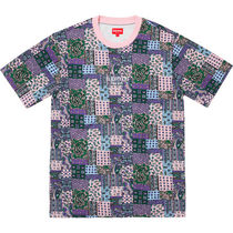 Supreme Patchwork Paisley S/S Top SS19 Week 19