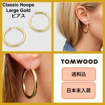 ■日本未入荷・送料込■ Tom Wood Classic Hoops Large Gold