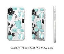 Casetify☆Tiffany Blue iPhone Case☆マカロン コーヒー ギフト