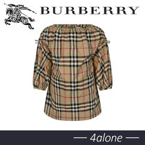 19AW☆BURBERRY☆BABY GIRLS☆MINI ALENKAチェックワンピース