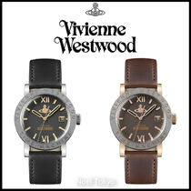 Vivienne Westwood*THE KINGSGATE WATCH アナログ腕時計 BK/BR