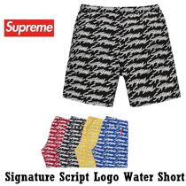 Supreme Signature Script Logo Water Short SS 19 WEEK 19