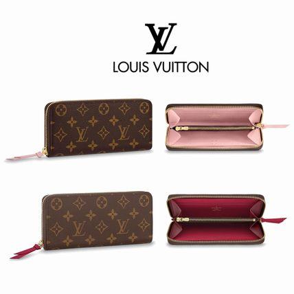 wholesale dealer f8f99 67d68 LOUIS VUITTON ルイヴィトン ポルトフォイユ クレマンス 長財布