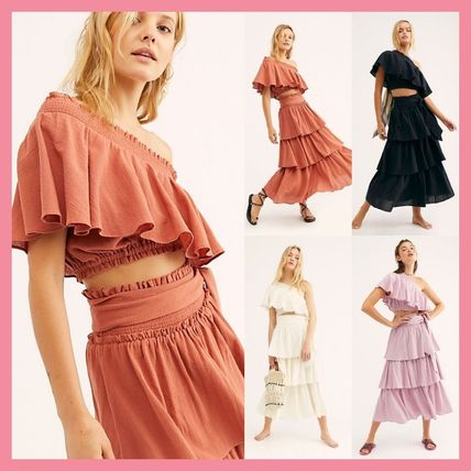 Free People セットアップ 日本未入荷★Free People ティアードセットアップ