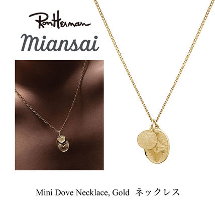 Ron Herman(ロンハーマン) ネックレス・チョーカー Ron Herman ジャスティン愛用 MIANSAI Mini Dove Necklace, Gold