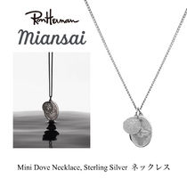 ジャスティン愛用 MIANSAI Mini Dove Necklace, Silver