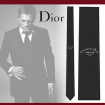 """【Dior】""""Christian Dior ATELIER""""モチーフシルクネクタイ"""