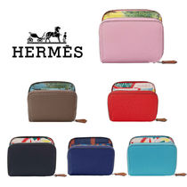 Hermes シルクインコンパクト Silk'in compact wallet エルメス