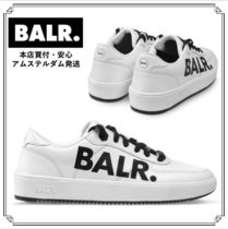 LOGO SNEAKERS WHITE ☆ 大人気ロゴスニーカー (関税負担なし)