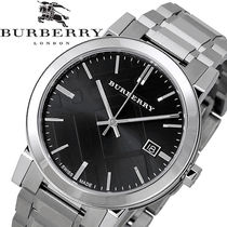 破格値 Burberry(バーバリー ) Large Check Black Men's Watch