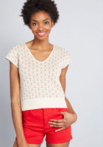 In the Details Short Sleeve Sweater