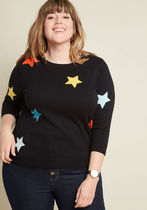 End of Starry Sweater