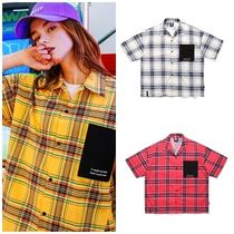 TWNのCoral Check Short Sleeve Shirts 全3色