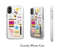 Casetify☆Smile Sticker Case☆ニコニコスティッカー