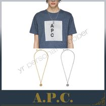 A.P.C. ☆ アーペーセー 新作! Casey ロゴ ネックレス