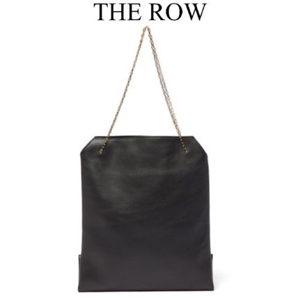 The Row ハンドバッグ 「VERY8月号掲載」★THE ROW★Lunch Bag leather clutch