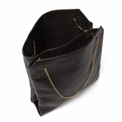 The Row ハンドバッグ 「VERY8月号掲載」★THE ROW★Lunch Bag leather clutch(4)