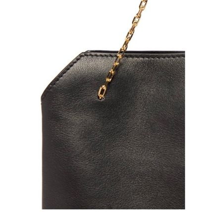 The Row ハンドバッグ 「VERY8月号掲載」★THE ROW★Lunch Bag leather clutch(7)