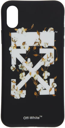Off-White スマホケース・テックアクセサリー 送料無料!OFF WHITE COTTON CARRYOVER X COVER