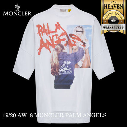 MONCLER Tシャツ・カットソー 累積売上総額1位!【MONCLER GENIUS】8 PALM ANGELS_T-SHIRT