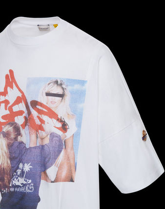 MONCLER Tシャツ・カットソー 累積売上総額1位!【MONCLER GENIUS】8 PALM ANGELS_T-SHIRT(5)
