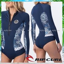 ★RipCurl★STAND-OUT柄ビキニカット長袖スプリングスーツ-1mm