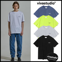 韓国人気【vivastudio】LOCATION LOGO SHORT SLEEVE★日本未入荷