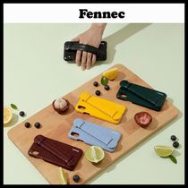 ◆Fennec ◆ ケース LEATHER iPHONE X/XS HANDLE CASE 4色