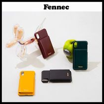 ◆Fennec ◆ ケース LEATHER iPHONE X/XS POCKET CASE 4色