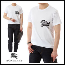(バーバリー) BURBERRY LOGO PRINT COTTON T-SHIRT 8007014