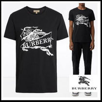 (バーバリー) BURBERRY LOGO PRINT COTTON T-SHIRT 8007016