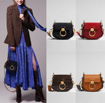 C454 TESS SMALL BAG IN CROCO EMBOSSED LEATHER