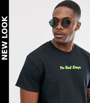 New Look(ニュールック) Tシャツ・カットソー 送料込★New Look★no bad days Tシャツ/black
