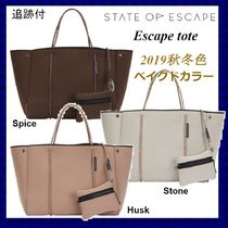 State of Escape(ステイトオブエスケープ) マザーズバッグ ベイクドカラー☆ State of Escape エスケープトート【追跡付】